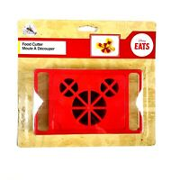 Disney Eats Mickey Mouse Ears Food Cutter Red