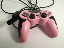 💚 PINK PS3 SONY PLAY STATION THREE CONTROLLER WIRED WORKS C5B