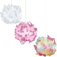 Girls Light Lamp Shade Butterfly Ceiling Pendant Chandeliers Shades Lampshades