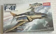 Academy 1:144 Luftwaffe F-4F Plastic Model Kit #12611