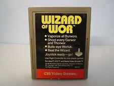 WIZARD OF WOR - Tested Working Atari 2600 Game Cartridge #0522