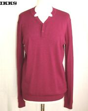 IKKS - PULL M. LONGUES LAINE & CACHEMIRE FRAMBOISE TAILLE M = 40 - COMME NEUF