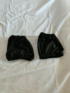 Child AR Sports Black Boot Covers Figure Ice Skating Pre-owned