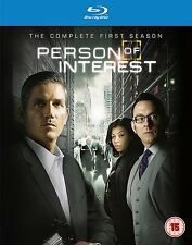 PERSON OF INTEREST - SEASON 1 - BLU-RAY - REGION B UK
