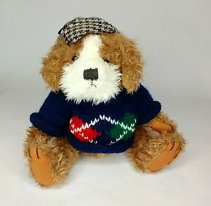 Pickford Bears Augie Dog Of Friendship Brass Button Collectables