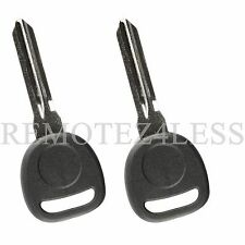 2 New Replacement for Buick Cadillac Chevy GMC Pontiac Saturn Car Fob Chip Key