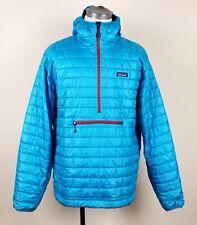 Patagonia Nano Puff Bivy Pullover Mens 2XL XXL blue insulated jacket 84186 RARE