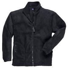 Portwest Workwear Mens Argyll Heavy Fleece Large F400BKRL Black