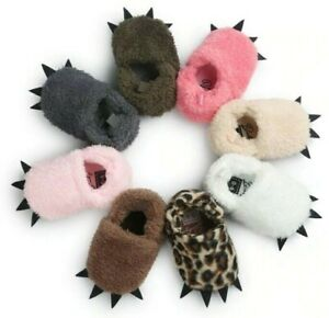 Baby Winter Cute Boots Monster Claw Baby Moccasins Shoes Indoor Slip On Shoes