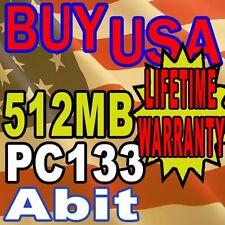 512MB PC133 133 Abit VH6T VL6 VP6 168PIN MEMORY RAM
