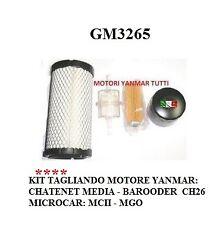 KIT TAGLIANDO PER MOTORI YANMAR CHATENET MICROCAR GM3265