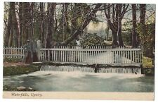 UPWEY Waterfalls, Old Postcard by H.Cumming Postally Used 1905