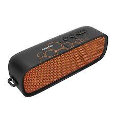 EasyAcc Bluetooth 4.1 Altoparlante Portatile Wireless Cassa Audio Arancio Nero