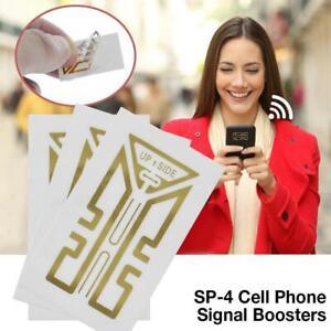 10PC Cell Phone Signal Enhancement Sticker External Antenna Signal Amplifier