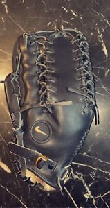 Black Nike Pro Gold Tradition LHT Glove 13.00""