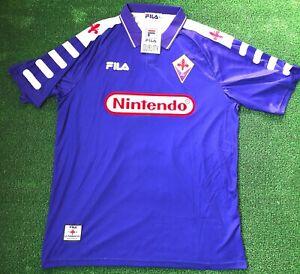 Fiorentina vintage a maglie da calcio di squadre italiane ...