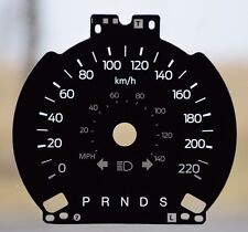 2013 FORD FLEX GAUGE OVERLAY/ FACEPLATE FOR SALE KM/ H