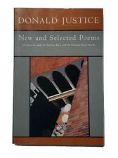 New listing 1997 Signed 1st Edition - Donald Justice - New And Selected Poems - Rare Book