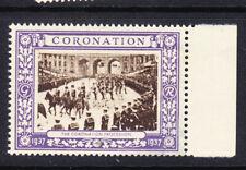 "GB  1937 Coronation ""Purple"" - Coronation Procession - Mint"
