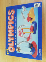 THE OLYMPIGS - Skill & Action Card Game 1991 Retro Paul Lamond Games Complete