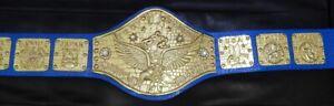 Bob Backlund WWWF Heavyweight Title Wrestling Champion Replica Belt