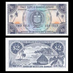 Western Samoa 2 Tala, 1967(2020), P-17dCS, Limited Reprint, Banknote, UNC