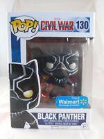 Marvel Funko Pop - Black Panther (Onyx Glitter) - Civil War - No. 130