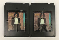 Set of 2 Vintage 80's MICHAEL JACKSON 8 Track Tapes Off The Wall Epic AA