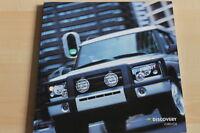 98765) Land Rover Discovery - Zubehör - Prospekt 2002