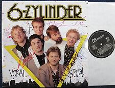 6-Zylinder Vokal Total LP 12` Vinyl signiert