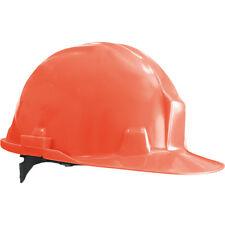 Helm Bauhelm Bauarbeiterhelm Schutzhelm Arbeitshelm Orange NEU Gr.53-61 EN397