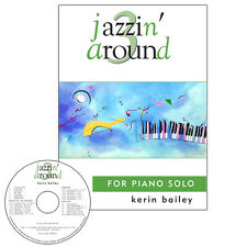 Jazzin Around 3 for Piano Book CD Sheet Music Kerin Bailey