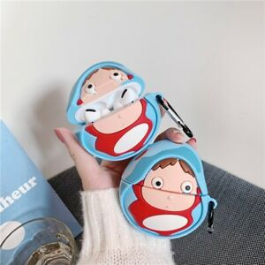 Ponyo Airpods Pro Case Protective Cover Ghibli Anime Goldfish Princess Silicone