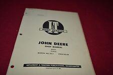 John Deere 70 Diesel Tractor I&T Shop Manual Yabe8