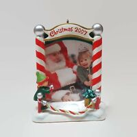 Hallmark Keepsake Christmas Ornament Santa and Me Photo Holder 2007 New