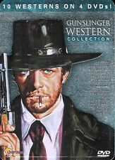 Gunslinger Western Collection ~ New Sealed 4-Disc DVD Tin Case ~ FREE Shipping
