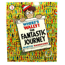 Where's Wally The FANTASTIC JOURNEY LARGE book 3 by Martin Handford BRAND NEW