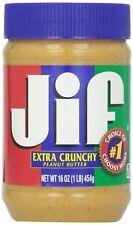 Jif Extra Crunchy Peanut Butter 1 X 454g