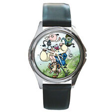 Regular Show Leather Wrist Watches New