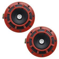 2pcs Dual Horns Grille Car Speakers DC 12V 139dB Super Tone For Subaru Impreza