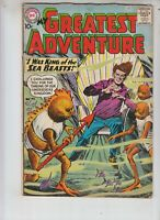 """My Greatest Adventure 47 VG- (3.5) 9/60 """"I Was King of the Sea Beasts!"""""""