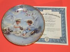 A Cup Full of Love by Sandra Kuck Always With You Calendar Plate July