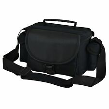 Black DSLR Camera Case Bag and Lens for Nikon Coolpix P7100 P510 P500 D5600 D500