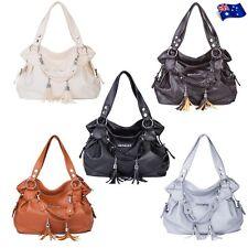 Women PU Leather Purse Tote Messenger Handbag Shoulder Lady Hobo Bag Satchel