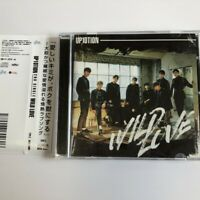UP10TION 2ND SINGLE WILD LOVE CD JAPAN w/OBI