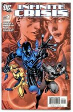 INFINITE CRISIS #5(4/06)1:NEW BLUE BEETLE(BOOSTER GOLD/BATMAN)CGC IT(9.8)LEE CVR