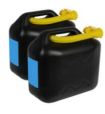 2 x 10 L Kraftstoffkanister Benzinkanister Kanister Kraftstoff UN-Zulassung Tank