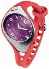 NIKE TRAIX ROAR CORAL PURPLE SPORT QUARTZ WATCH