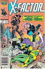 X-FACTOR  #4 1986 MARVEL STAN LEE -THE BEAST IS BACK- LAYTON/ ROSEN...FN-