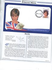 PRINCESS DIANA 1997 37  FIRST DAY ISSUE STAMP COVER SET ALL DIFFERENT W/ BINDER